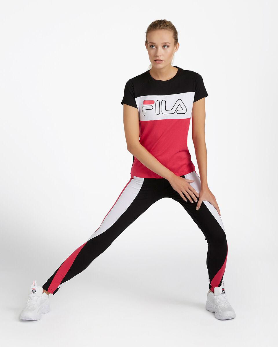 T-Shirt FILA REGULAR COLOR BLOCK W S4080534 scatto 1