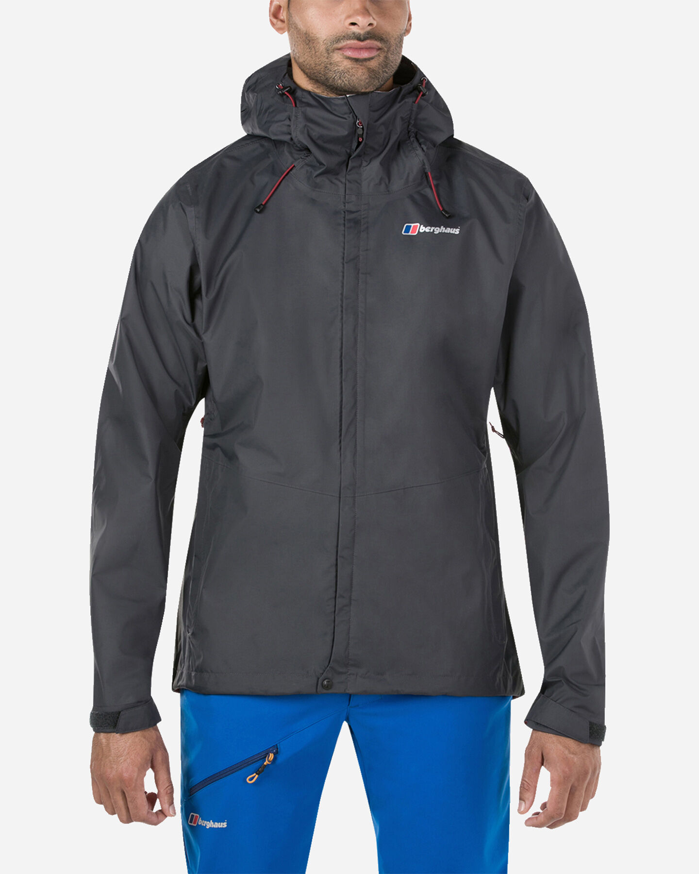 Pile BERGHAUS DELUGE VENTED SHELL M S4060418 scatto 2