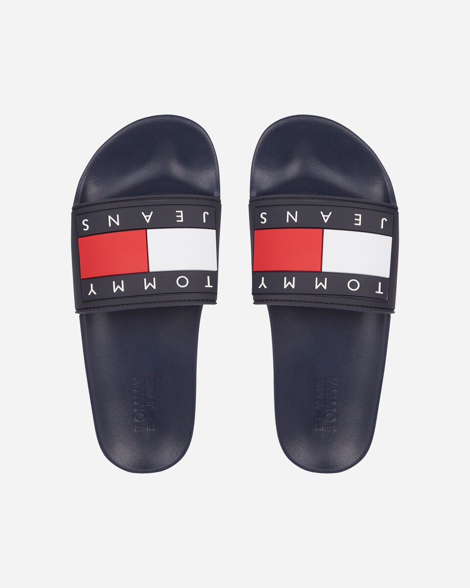 Ciabatte TOMMY HILFIGER ESSENTIAL FLAG W S4088127 scatto 0