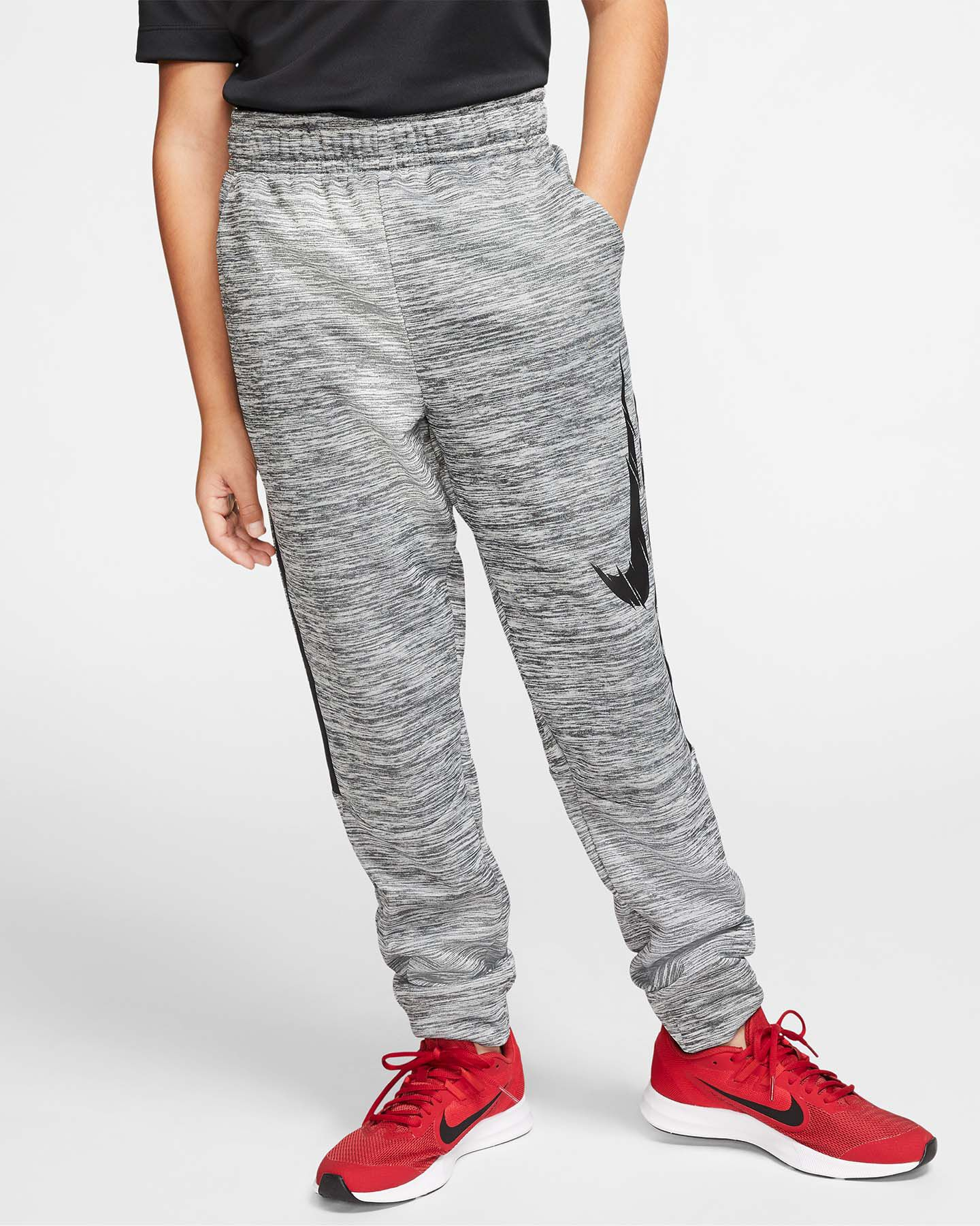Pantalone NIKE THERMA SWOOSH JR S5164567 scatto 2