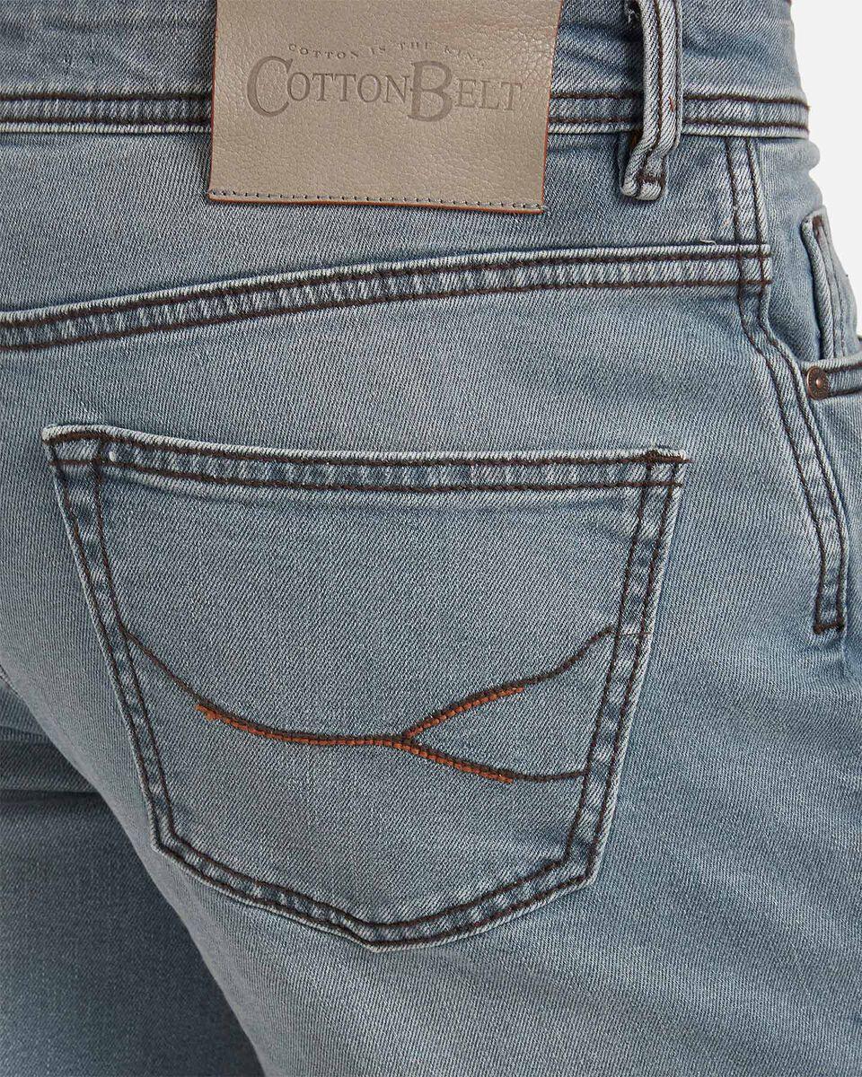 Jeans COTTON BELT 5TS SLIM M S4076651 scatto 3