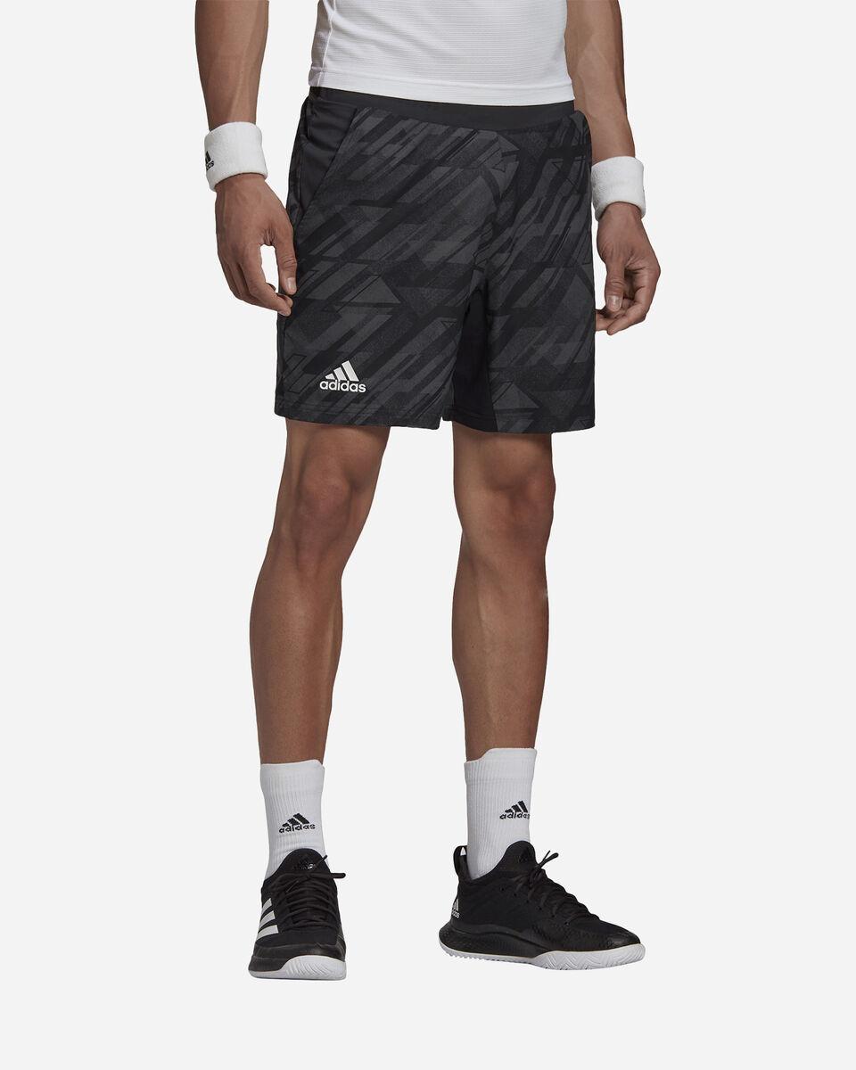 Pantaloncini tennis ADIDAS ERGO PRINTED AEROREADY M S5212238 scatto 2