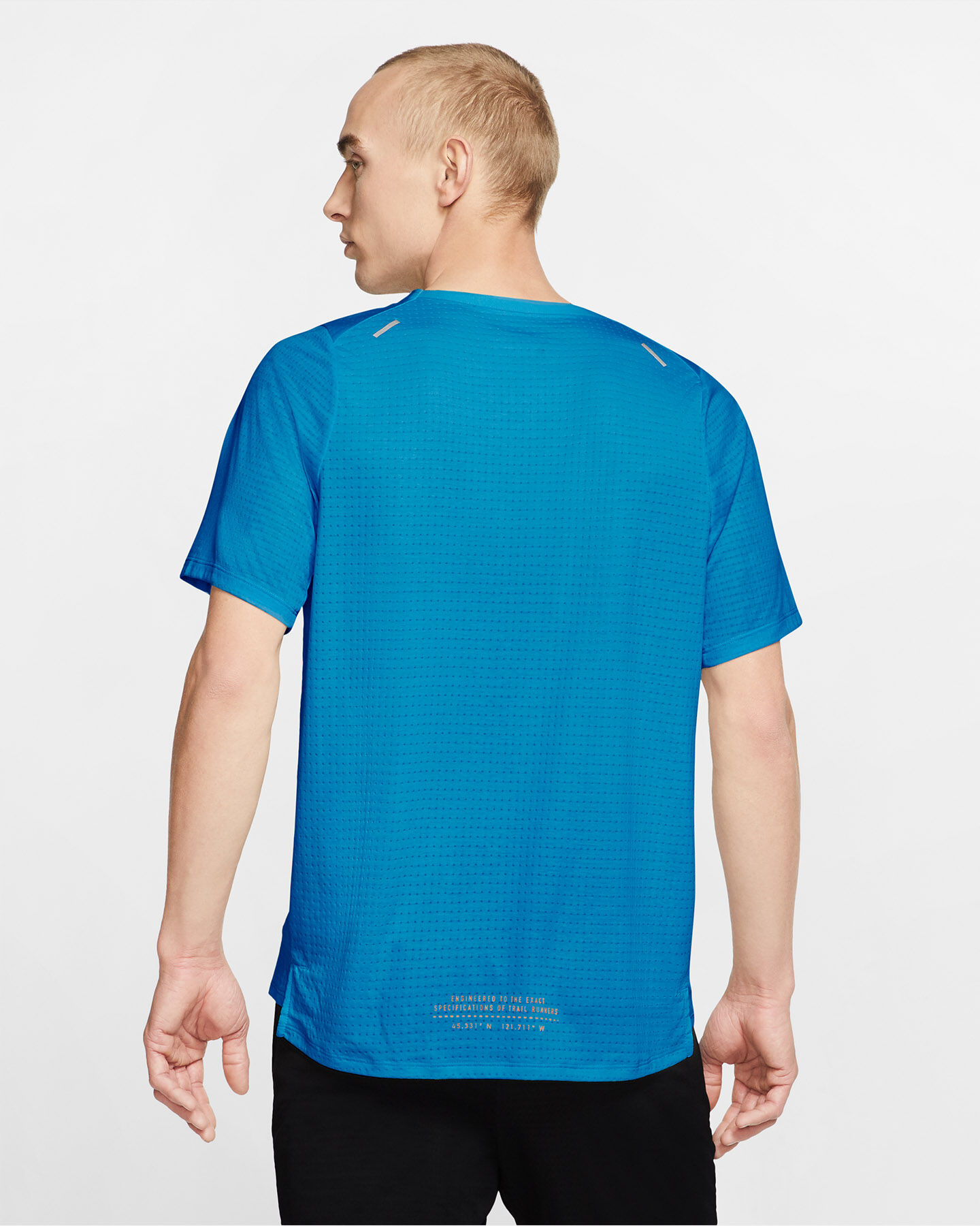 T-Shirt running NIKE RISE 365 TRAIL M S5225209 scatto 3