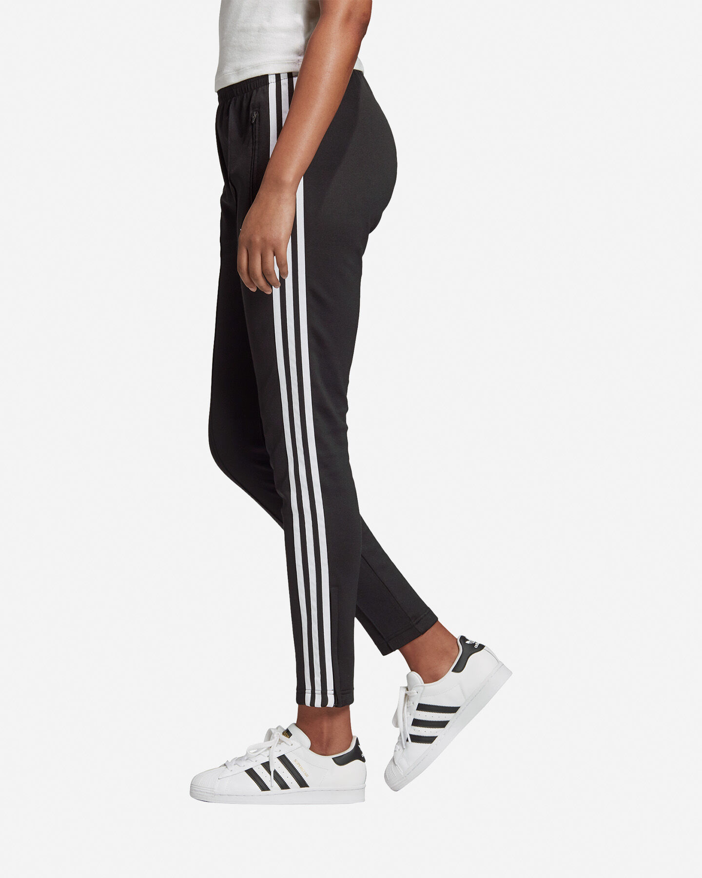 Pantalone ADIDAS INTERLOCK SLIM W S5210188 scatto 3