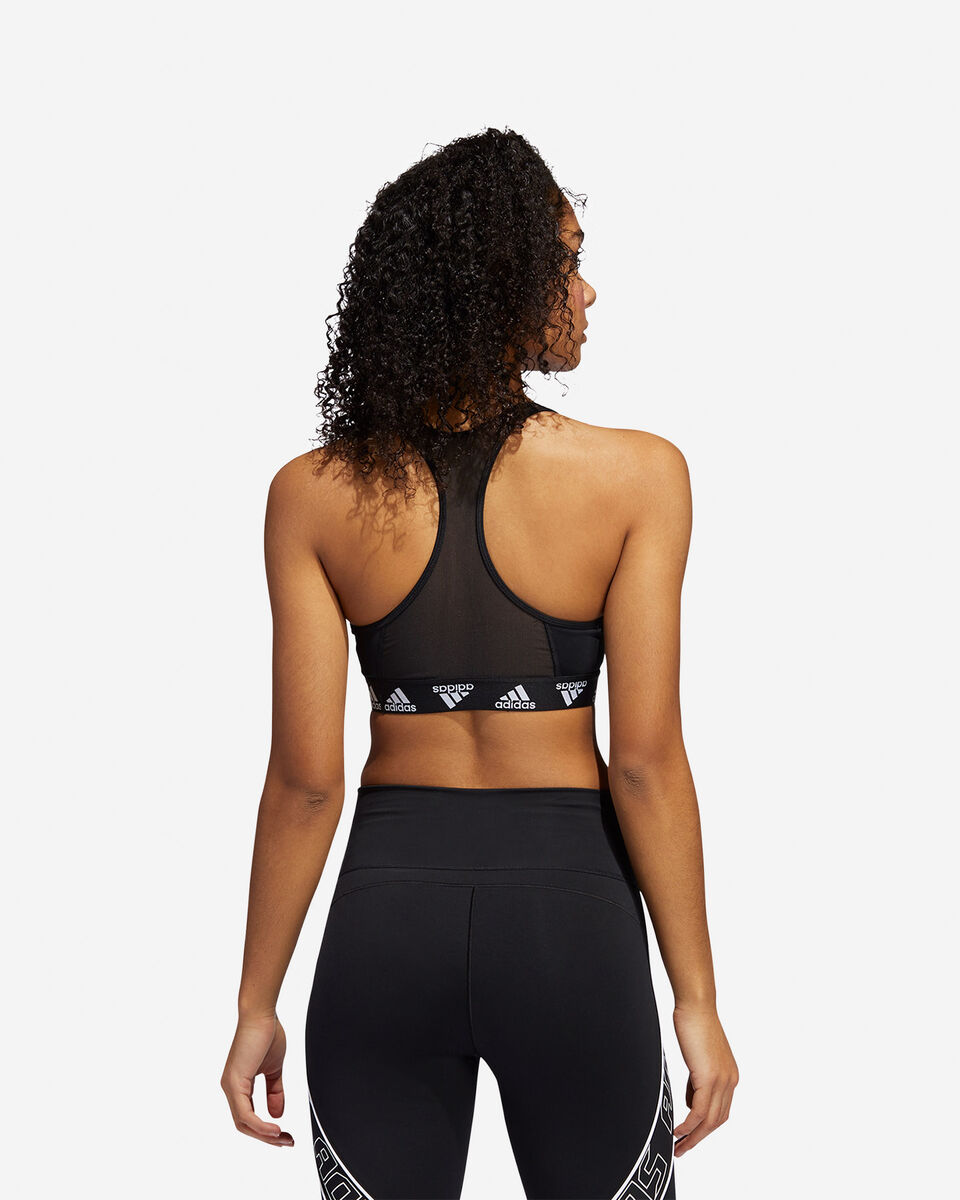 Bra training ADIDAS DONT REST ALPHASKIN PADDED BADGE OF SPORT W S5218176 scatto 4