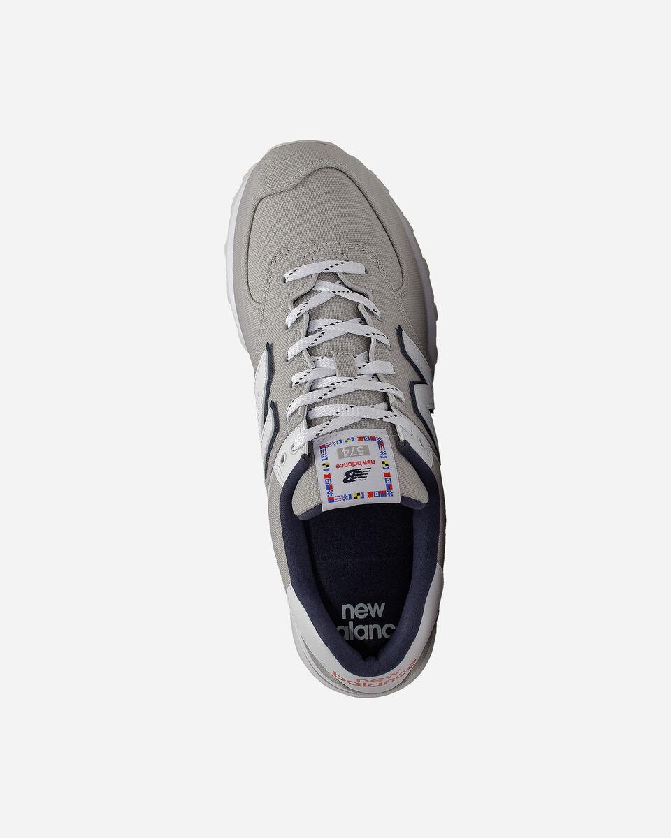Scarpe sneakers NEW BALANCE 574 M S5166050 scatto 2