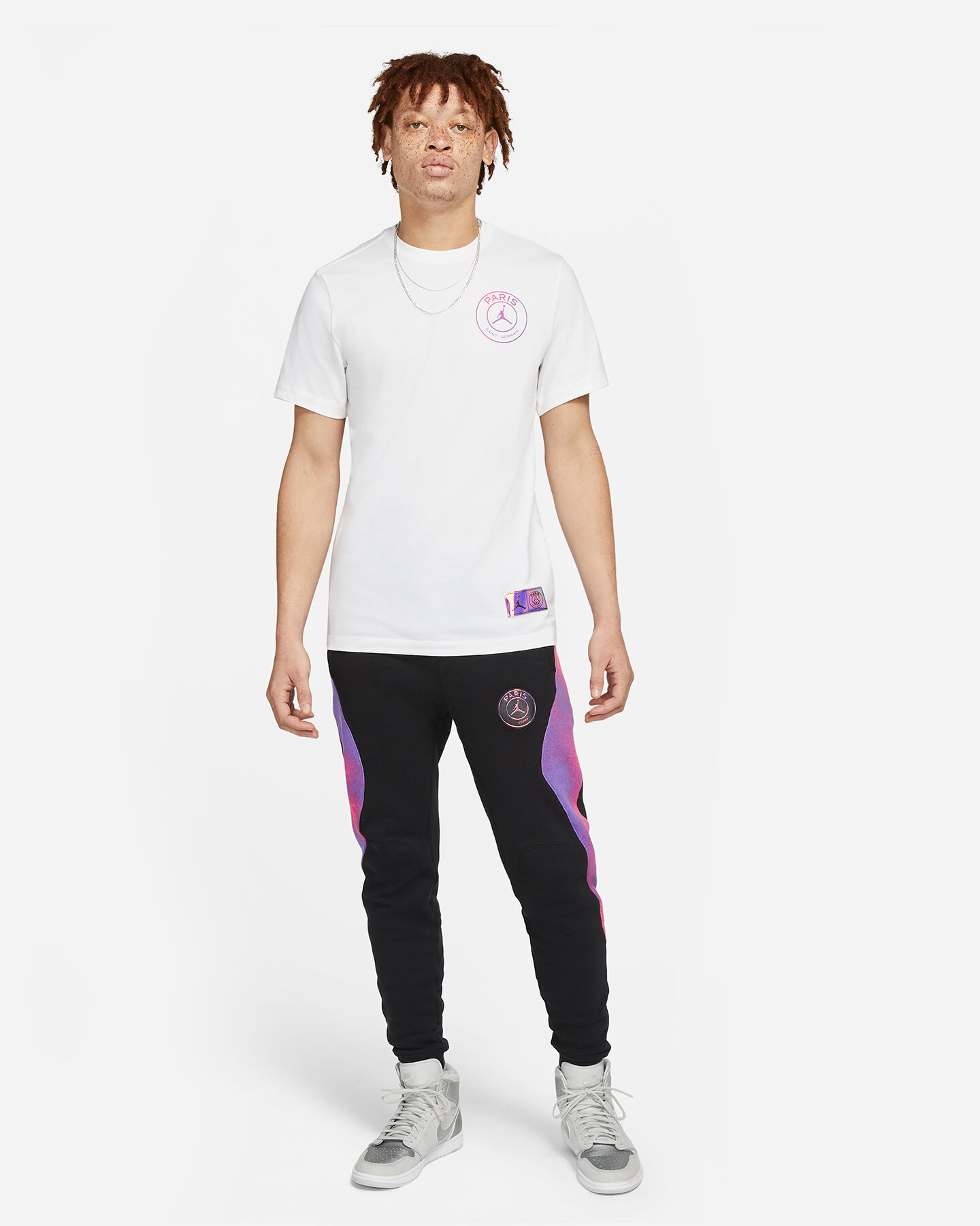 T-shirt Nike Jordan Psg Logo Retro M CV3402-010   Cisalfa Sport