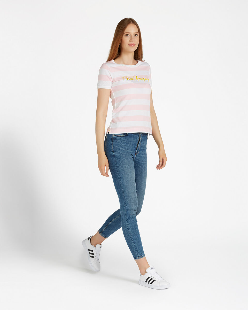 T-Shirt BEST COMPANY STRIPES W S4064575 scatto 3