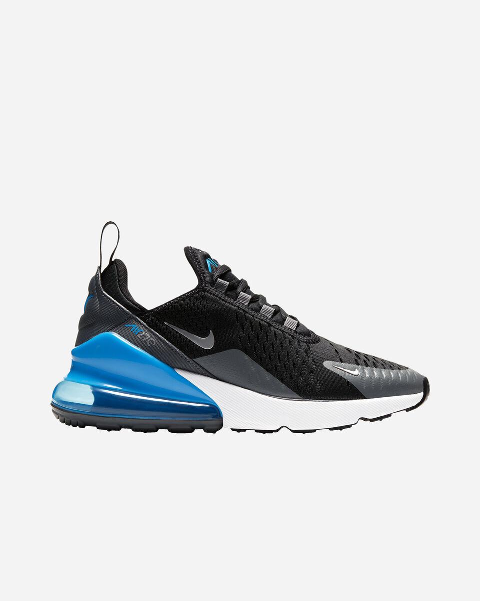 Scarpe sneakers NIKE AIR MAX 270 GS JR S5262340 scatto 0
