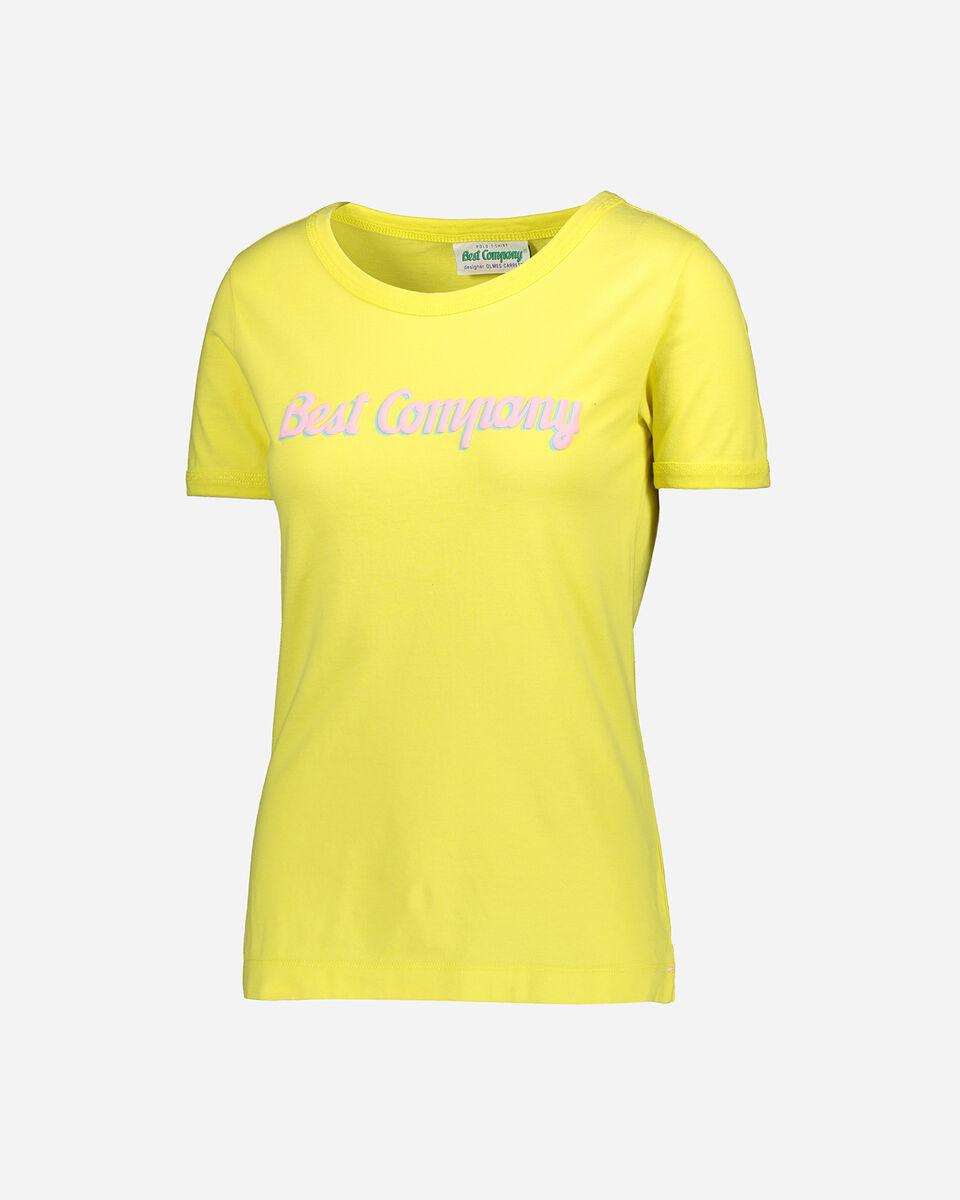 T-Shirt BEST COMPANY LOGO W S4085712 scatto 0