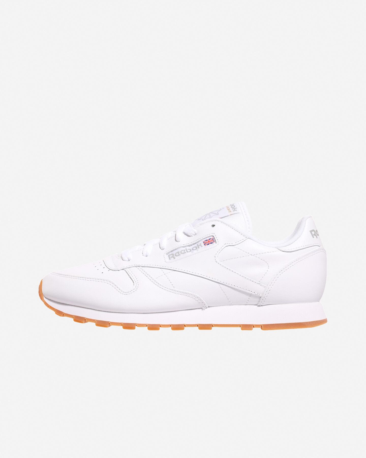 Scarpe sneakers REEBOK CLASSIC LEATHER W S0295670 scatto 5