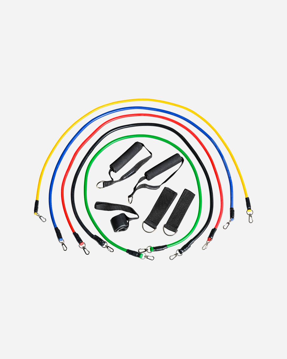 Banda elastica CARNIELLI FITNESS TUBE CE3 S5270645 999 UNI scatto 0