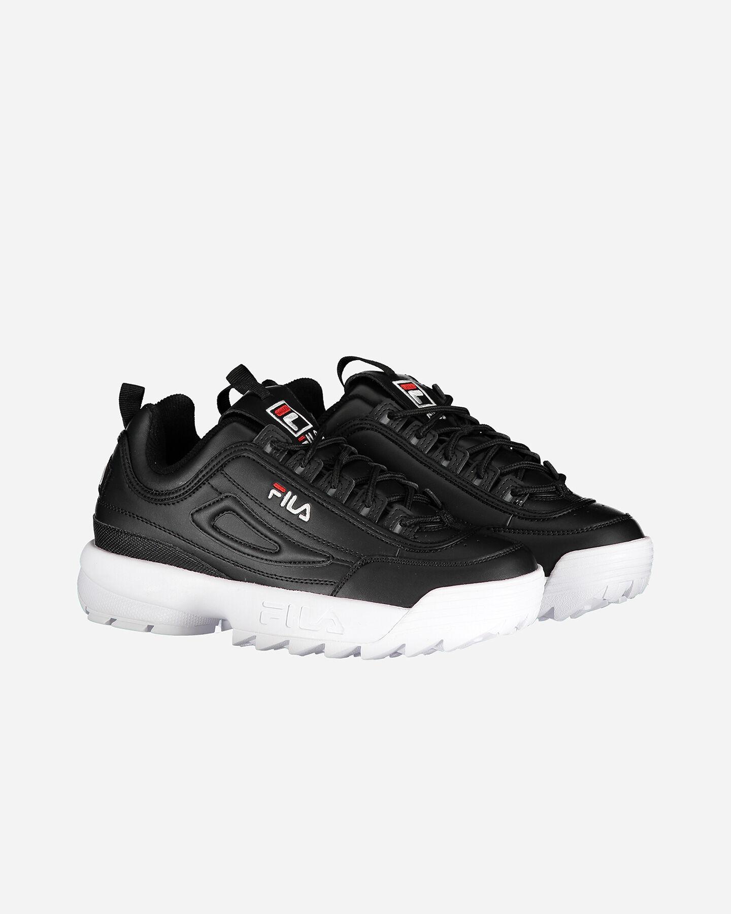 Scarpe sneakers FILA DISRUPTOR LOW GS JR S4081690 scatto 2