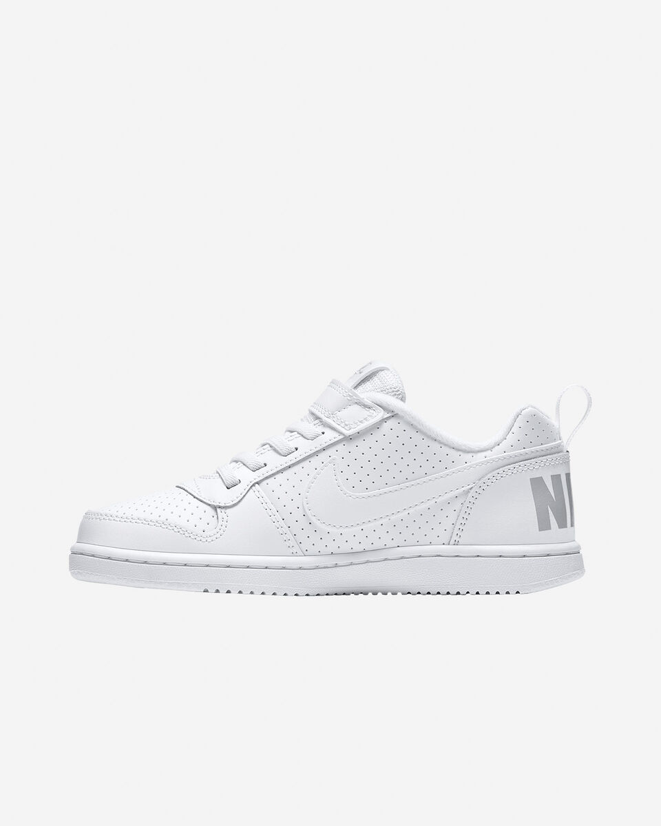 Scarpe sportive NIKE COURT BOROUGH LOW JR PS S4021208 scatto 4