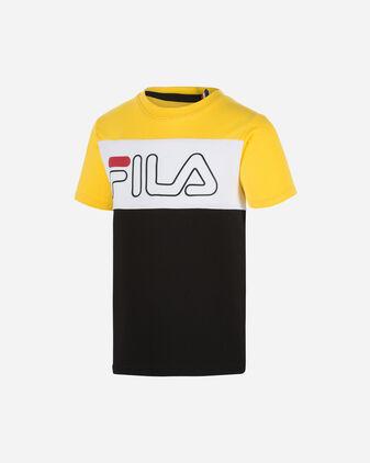 T-Shirt FILA COLOR BLOCK JR