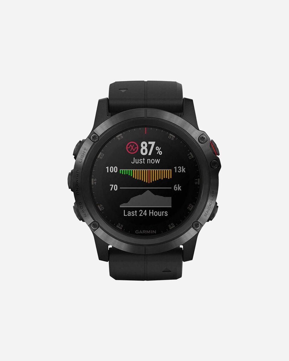 Orologio multifunzione GARMIN FENIX 5X PLUS S4056934 01 UNI scatto 0