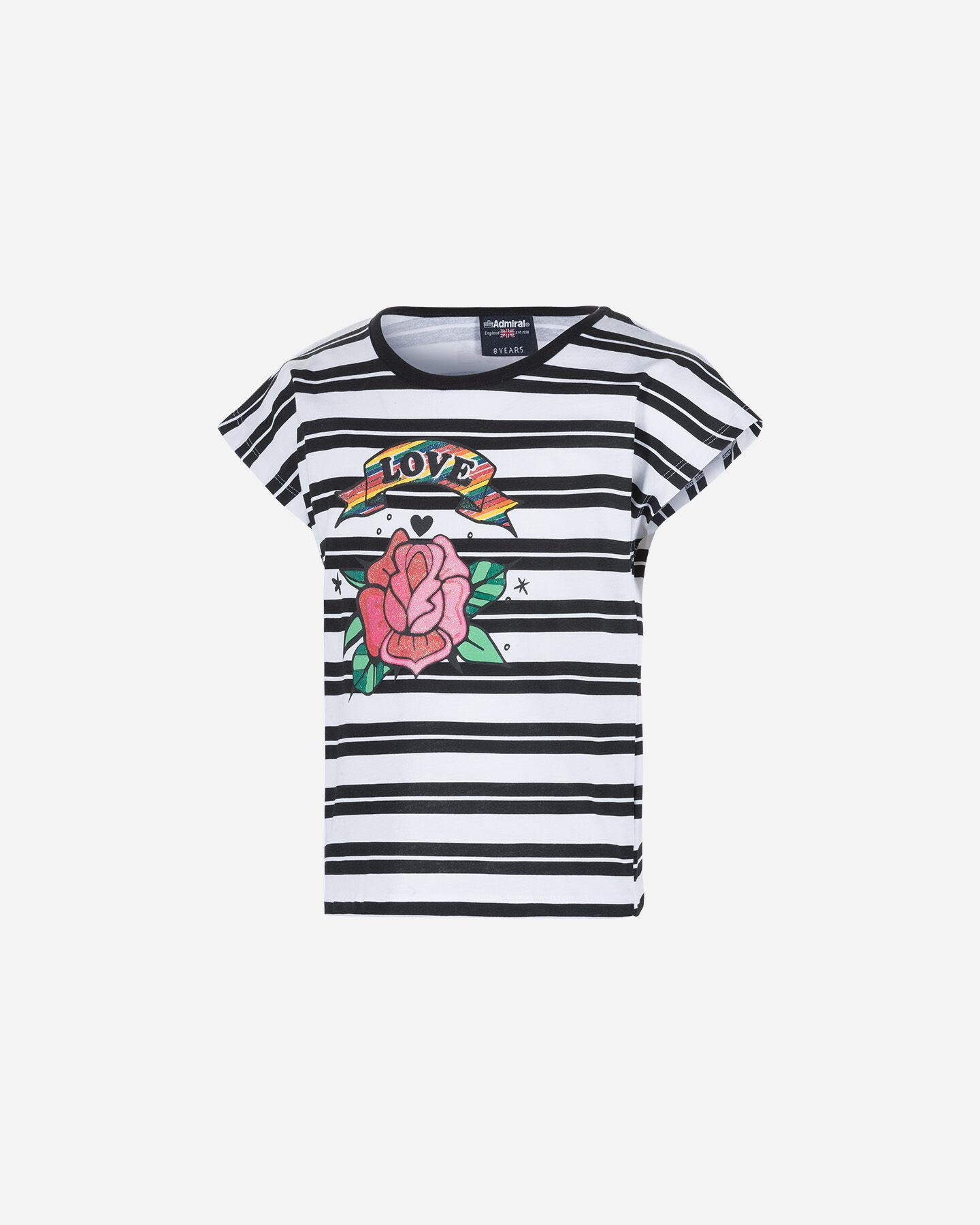 T-Shirt ADMIRAL TATTOO STRIPES JR S4075966 scatto 0