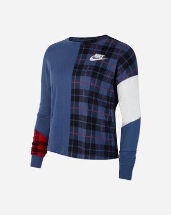 T-Shirt NIKE PLAID W