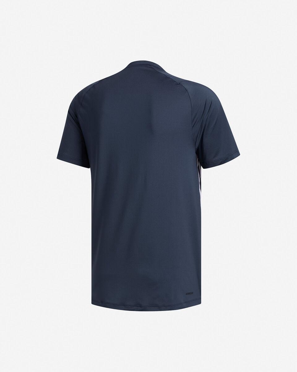 T-Shirt training ADIDAS FREELIFT 3-STRIPES M S5154666 scatto 1