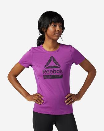 T-Shirt training REEBOK ACTIVCHILL GRAPHIC W