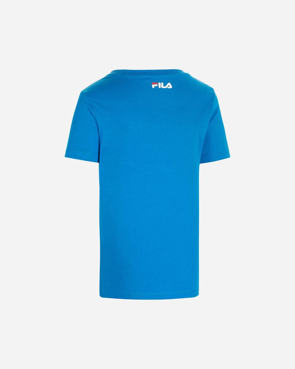 T-Shirt FILA BOX JR S4088610 scatto 1