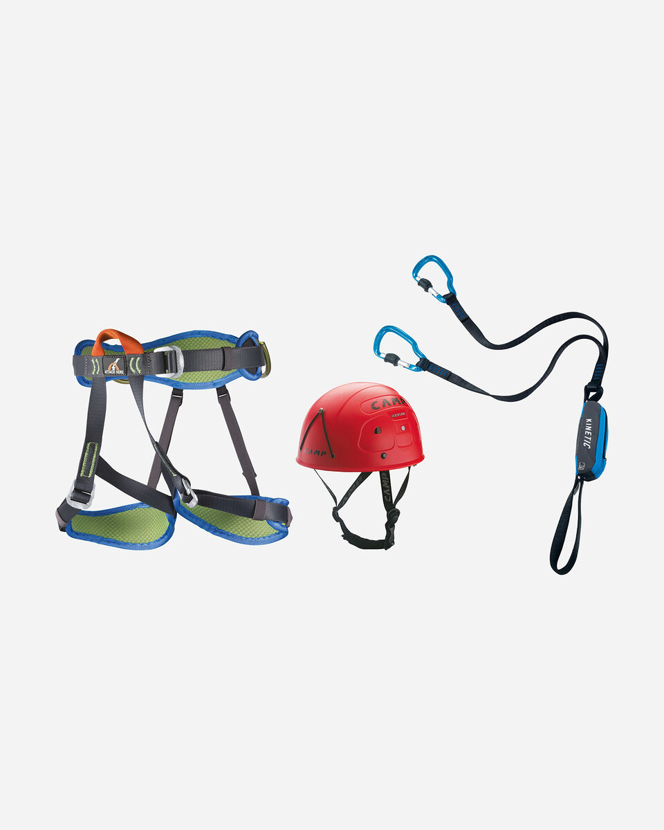 Accessorio arrampicata CAMP KIT CAMP FERRATA KINETIC 2746 ROCKSTAR-TOPAZ PLUS S4027971 1 UNI scatto 0