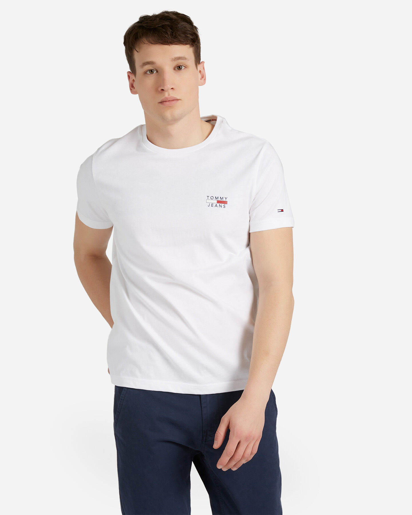 T-Shirt TOMMY HILFIGER SMALL LOGO M S4088735 scatto 0