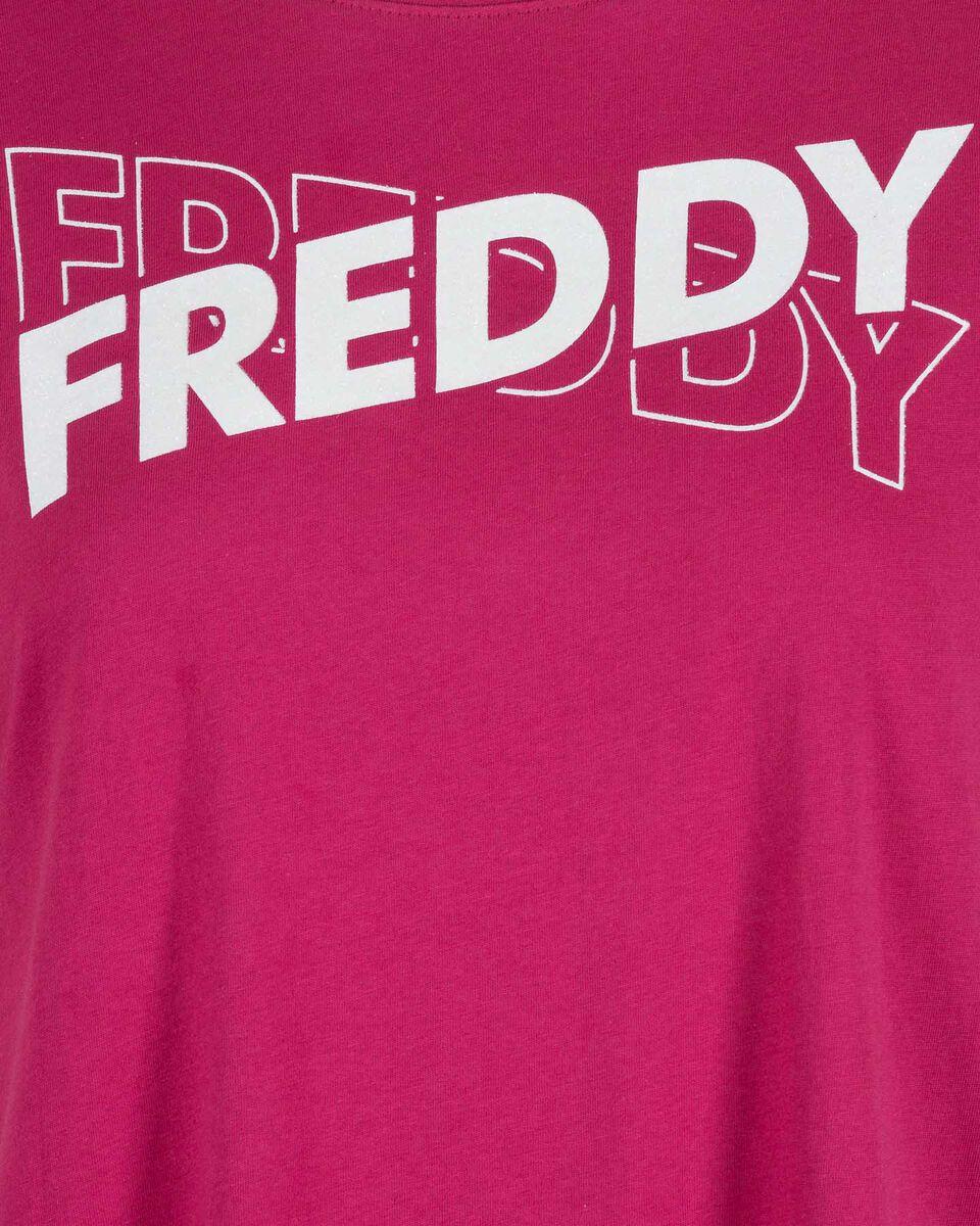 T-Shirt FREDDY BIG LOGO W S5118039 scatto 2