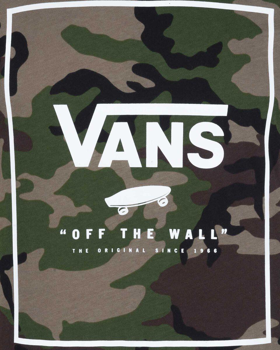 T-Shirt VANS PRINT BOX M S5186650 scatto 2