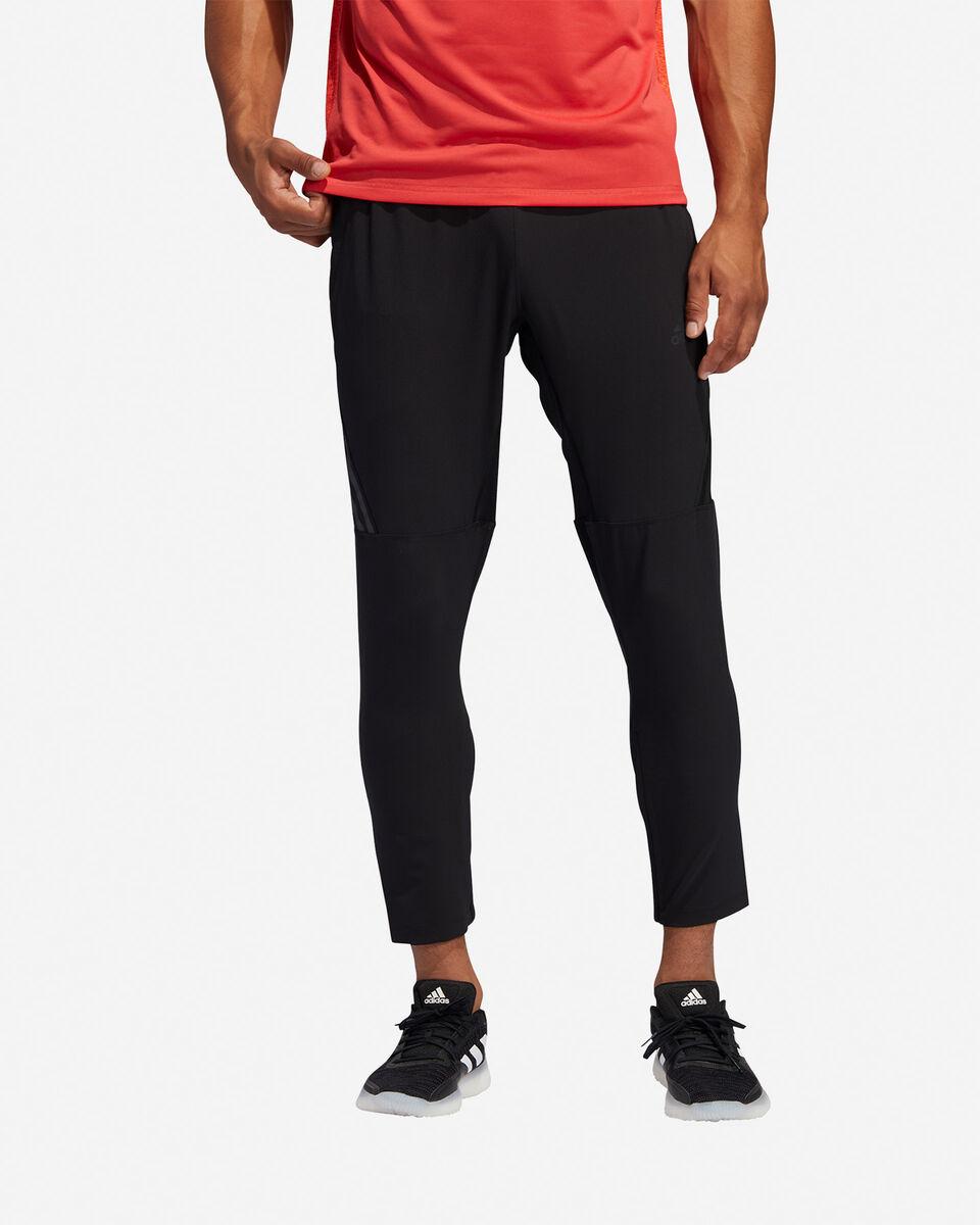 Pantalone training ADIDAS AEROREADY 3-STRIPES M S5154644 scatto 2