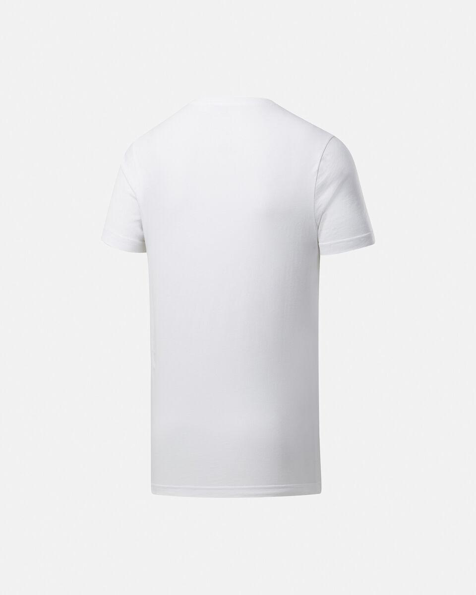 T-Shirt training REEBOK GRAPHIC SERIES LINEAR LOGO M S5146293 scatto 1