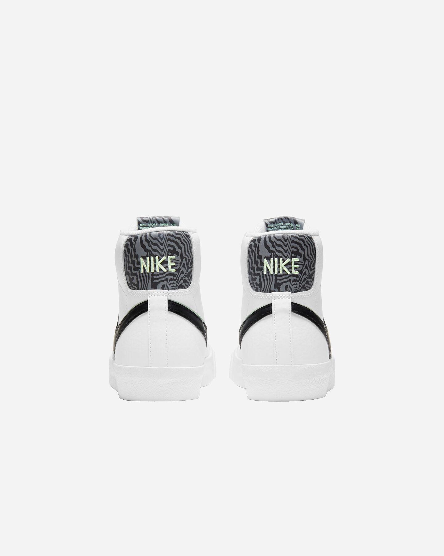 Scarpe sneakers NIKE BLAZER MID '77 SE JR GS S5270466 scatto 4