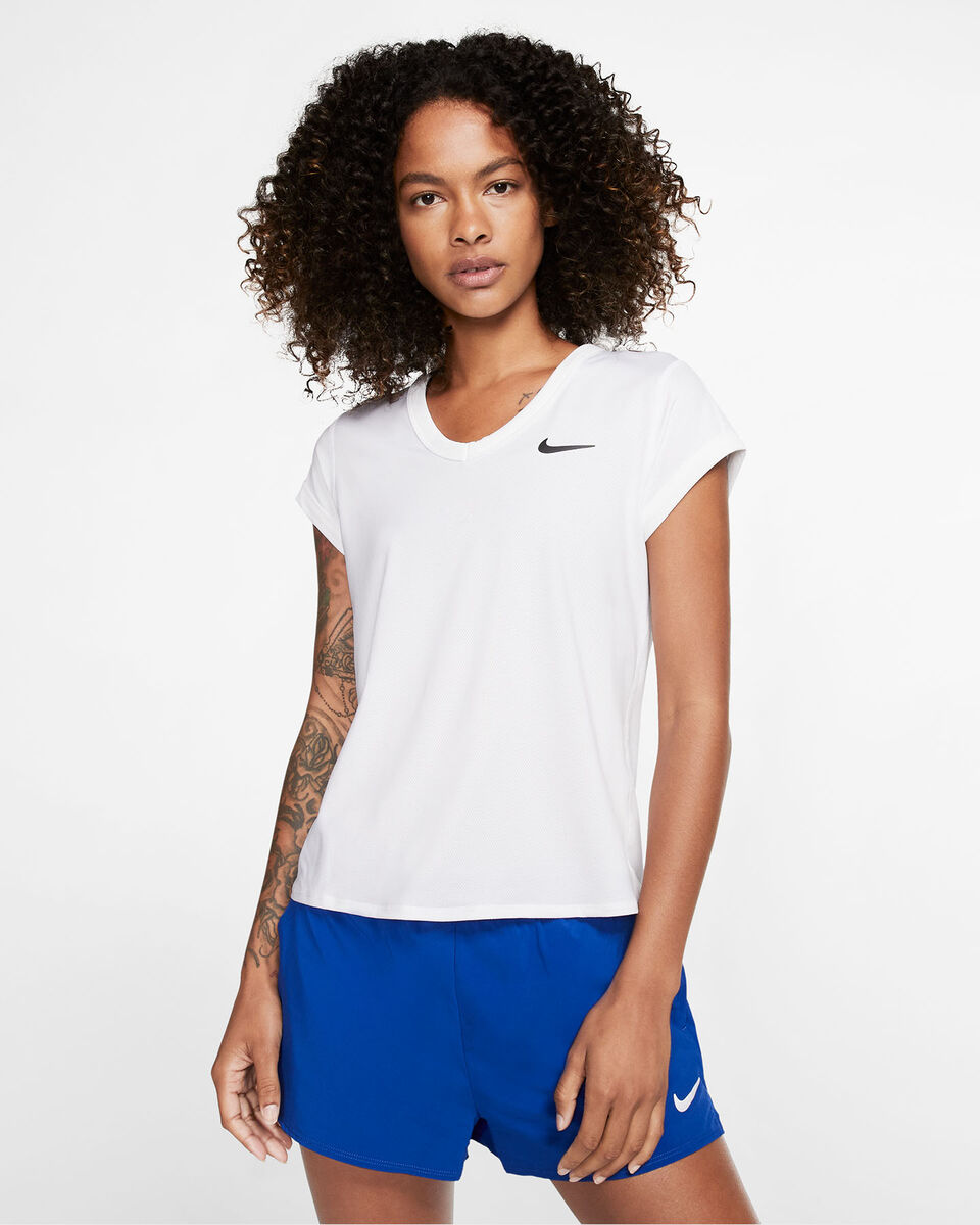 T-Shirt tennis NIKE COURT DRI-FIT W S5164899 scatto 2