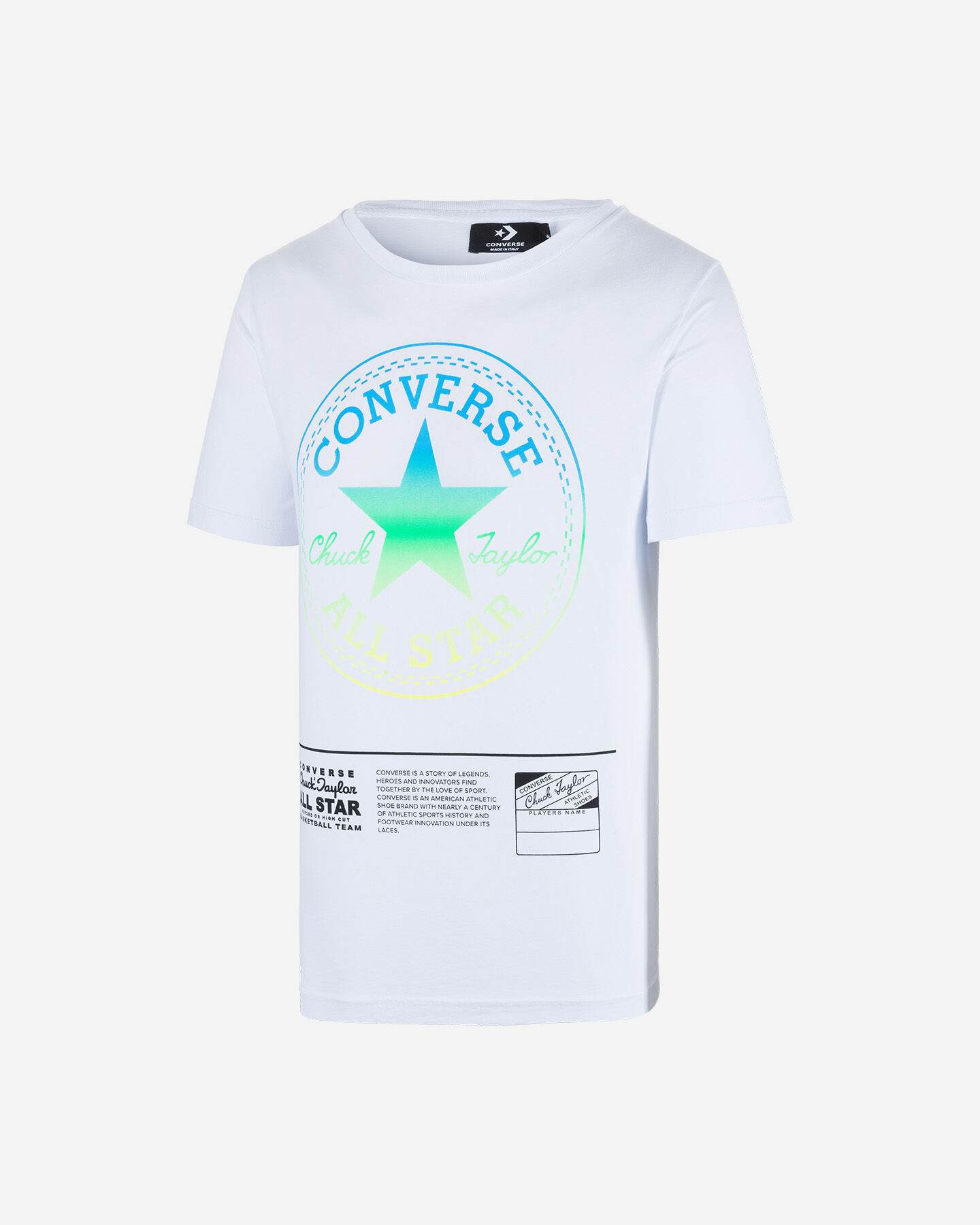 T-Shirt CONVERSE ALL STAR CHUCH TAYLOR LOGO M S5181091 scatto 0