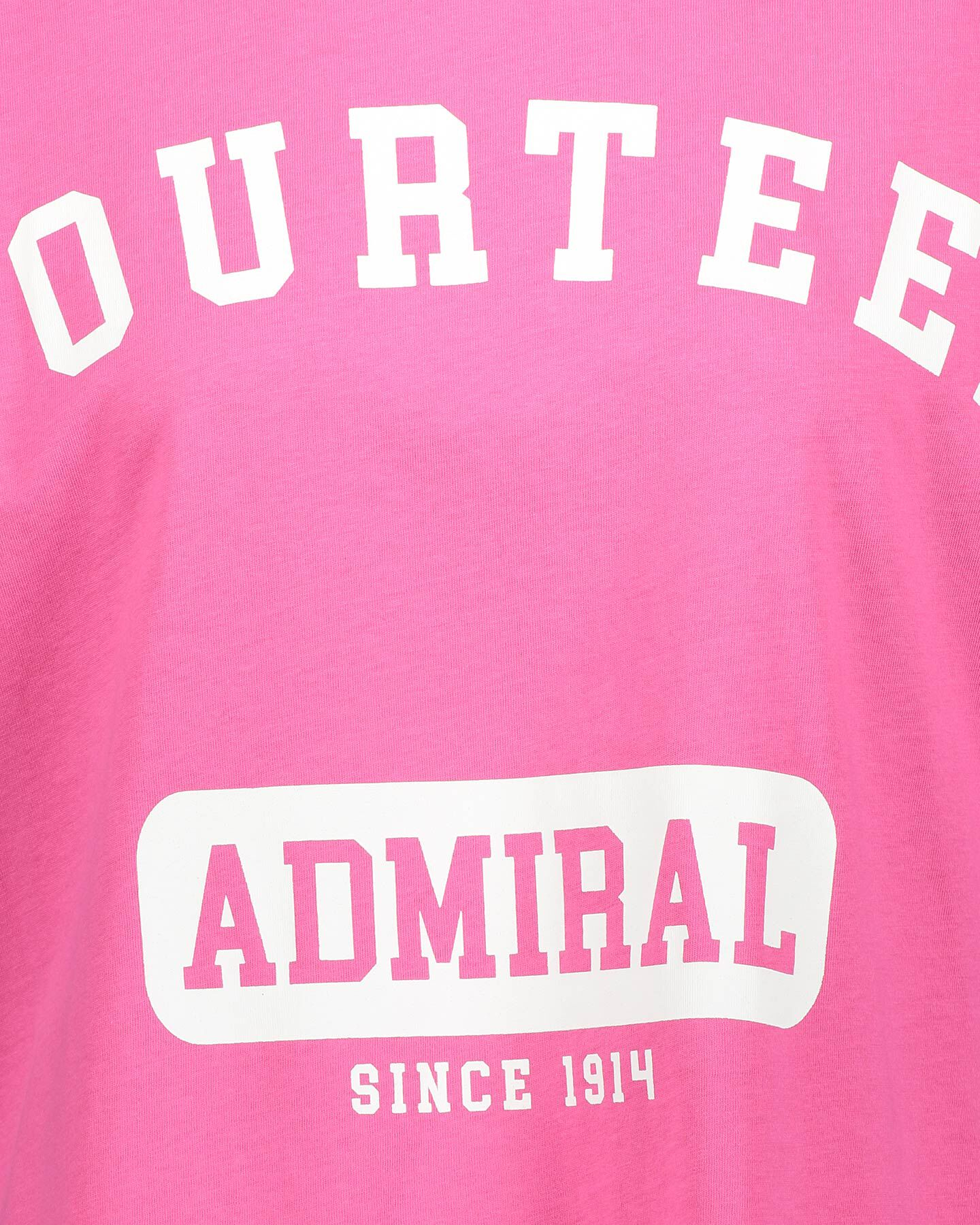 T-Shirt ADMIRAL LETTERING W S4087709 scatto 2