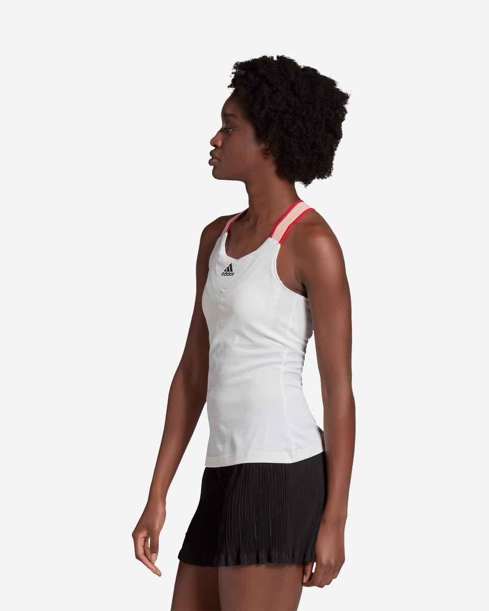 T-Shirt tennis ADIDAS HEAT.RDY W S5212318 scatto 3