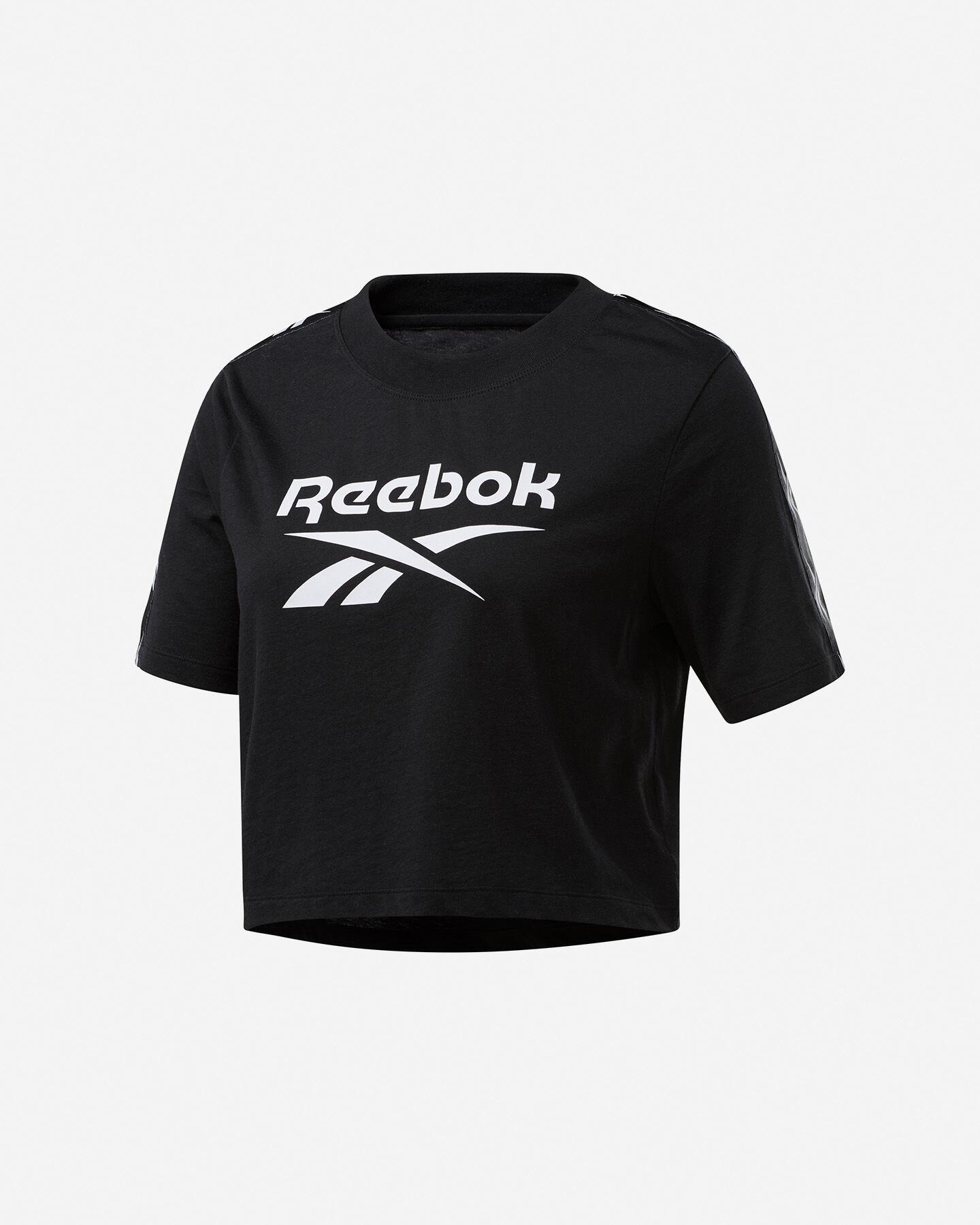 T-Shirt REEBOK TAPE LOGO W S5258650 scatto 0