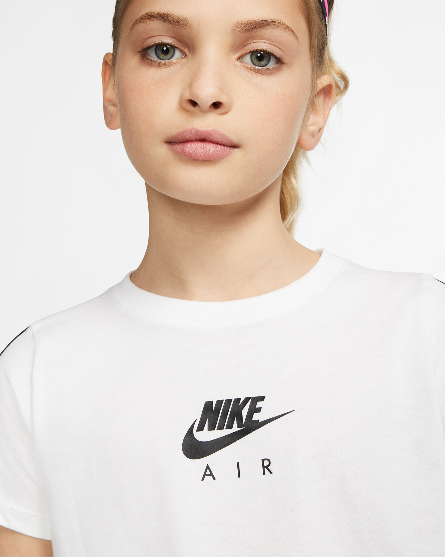 T-Shirt NIKE AIR TAPE JR S5165084 scatto 4