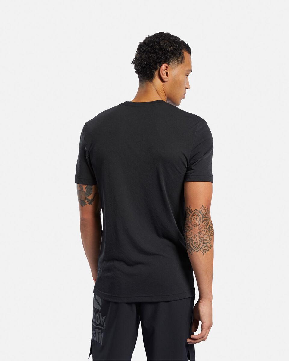 T-Shirt training REEBOK READ M S5145324 scatto 3