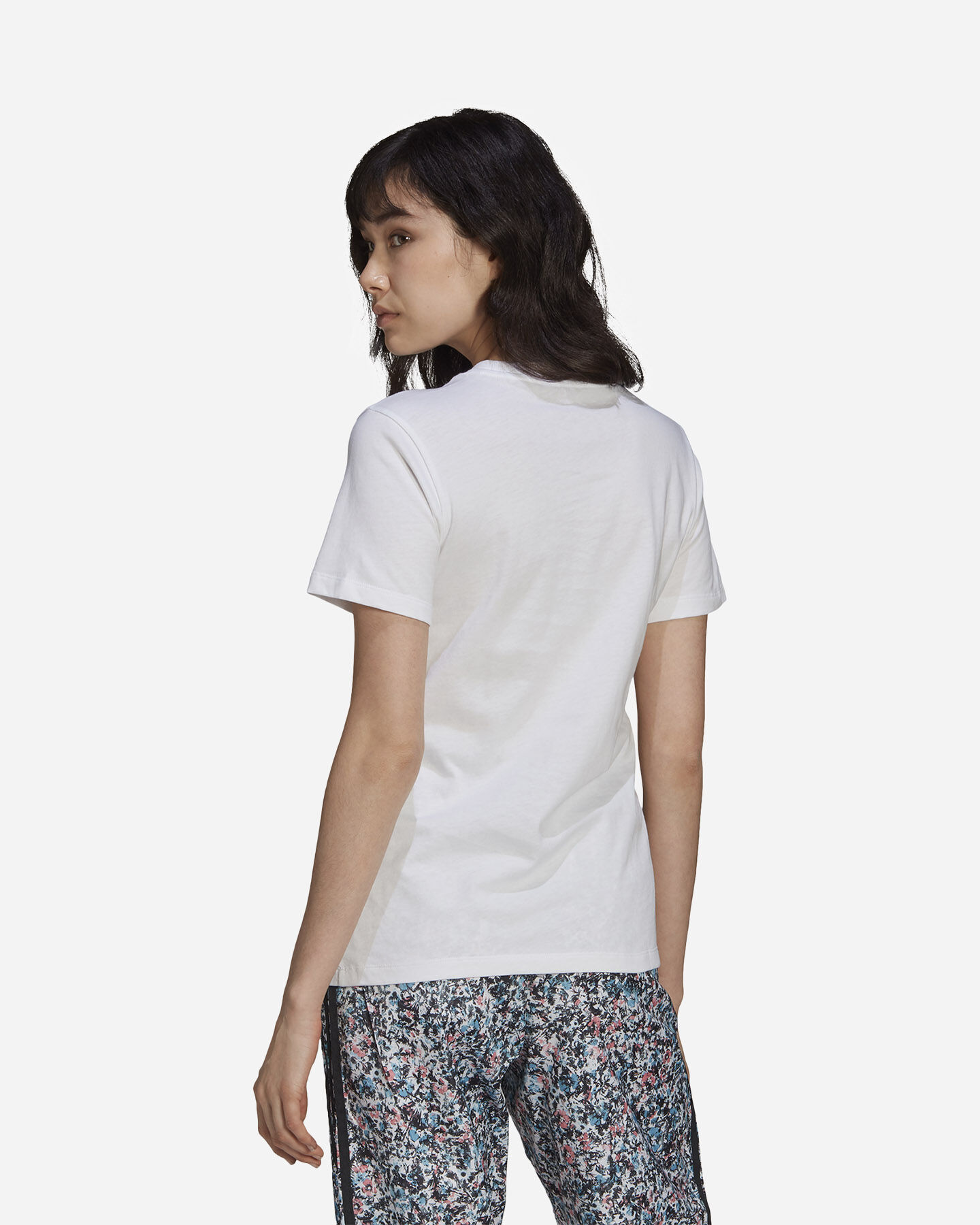 T-Shirt ADIDAS FLOWER W S5271153 scatto 3