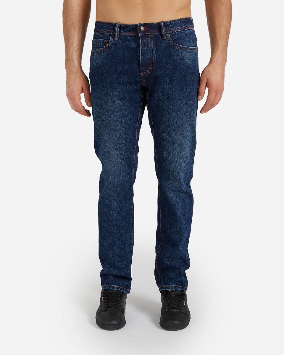 Jeans COTTON BELT 5TS SLIM M S4076649 scatto 0