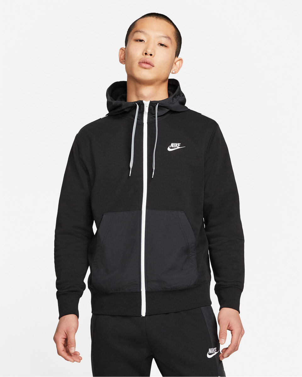 Felpa NIKE FULL ZIP M S5269882 scatto 0