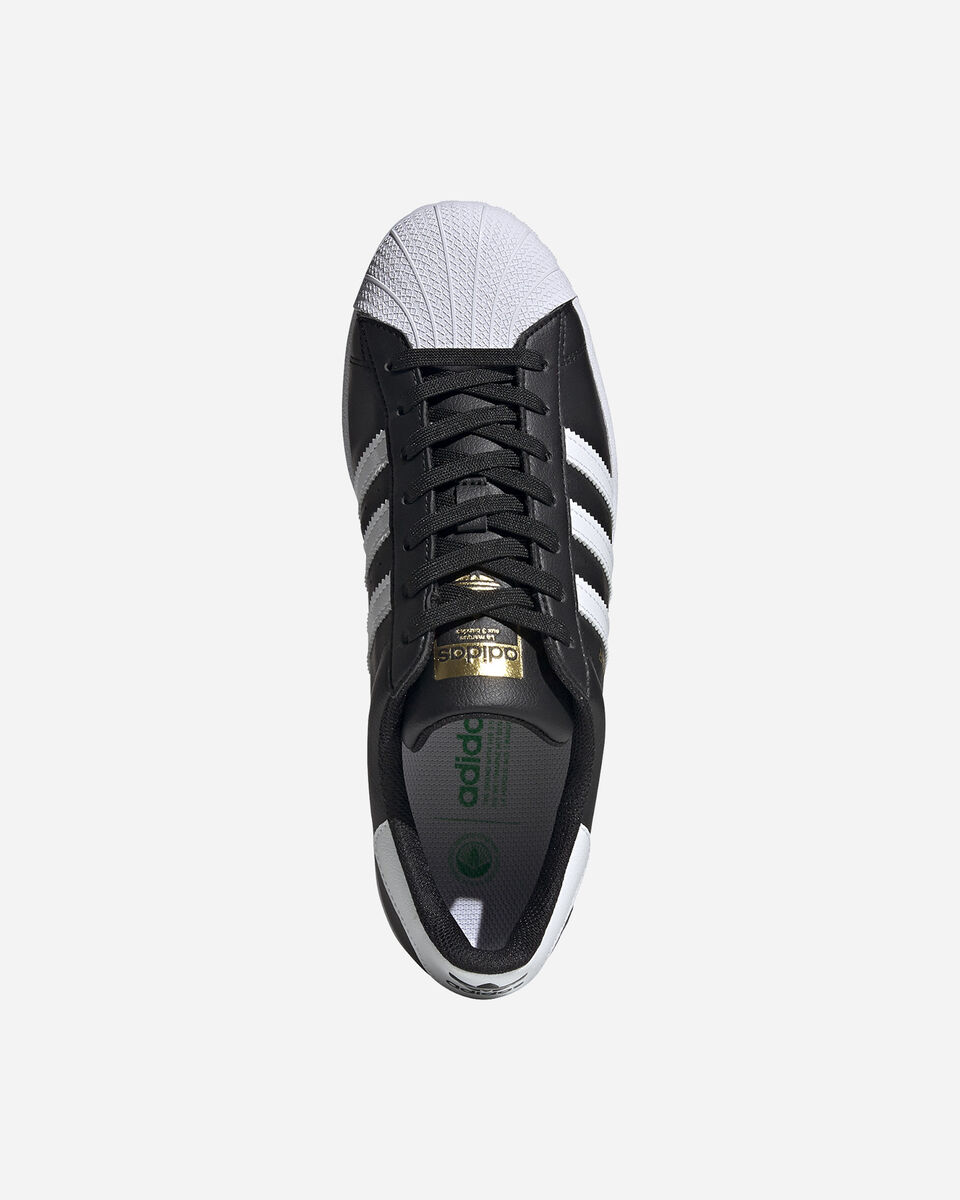 Scarpe sneakers ADIDAS SUPERSTAR VEGAN M S5209272 scatto 2