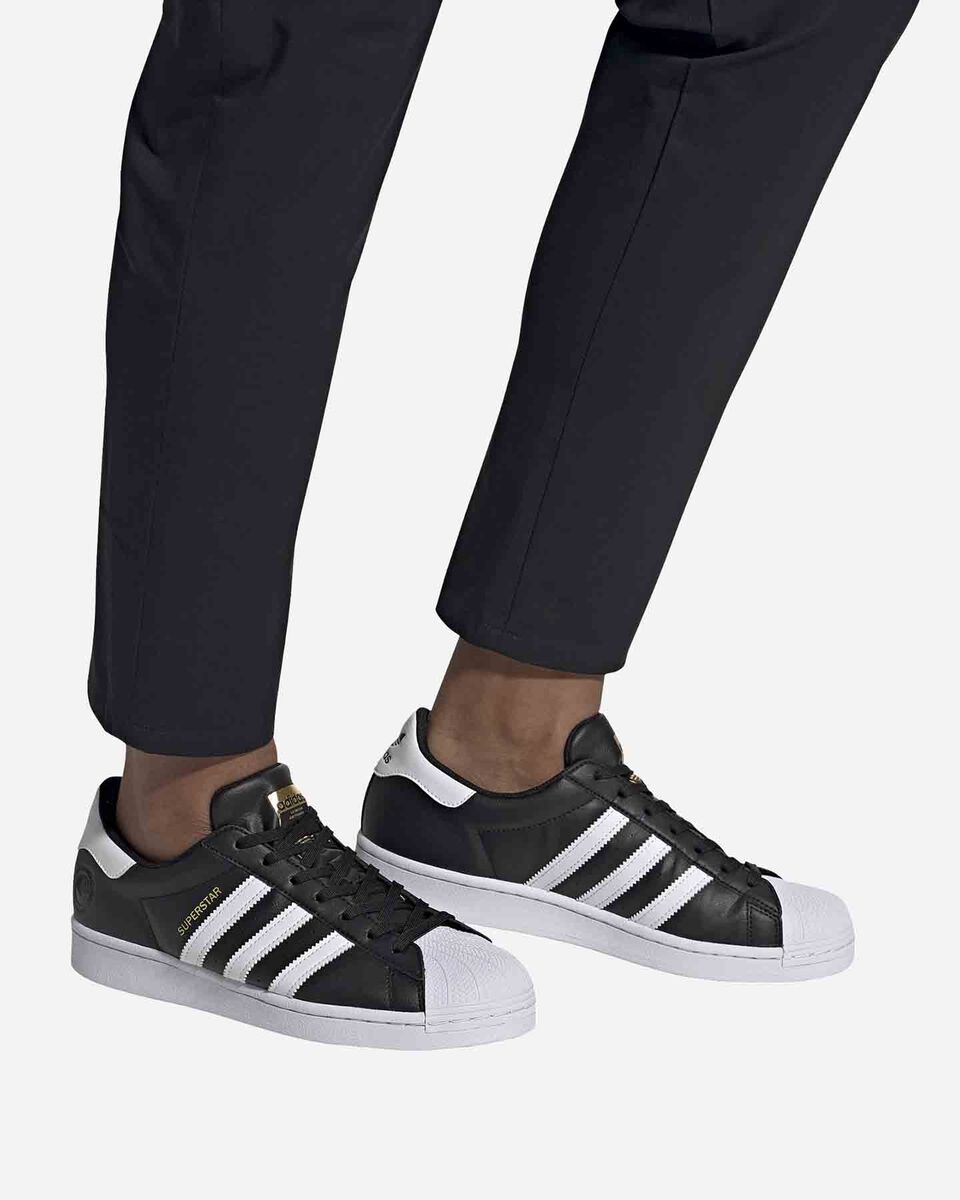 Scarpe sneakers ADIDAS SUPERSTAR VEGAN M S5209272 scatto 5