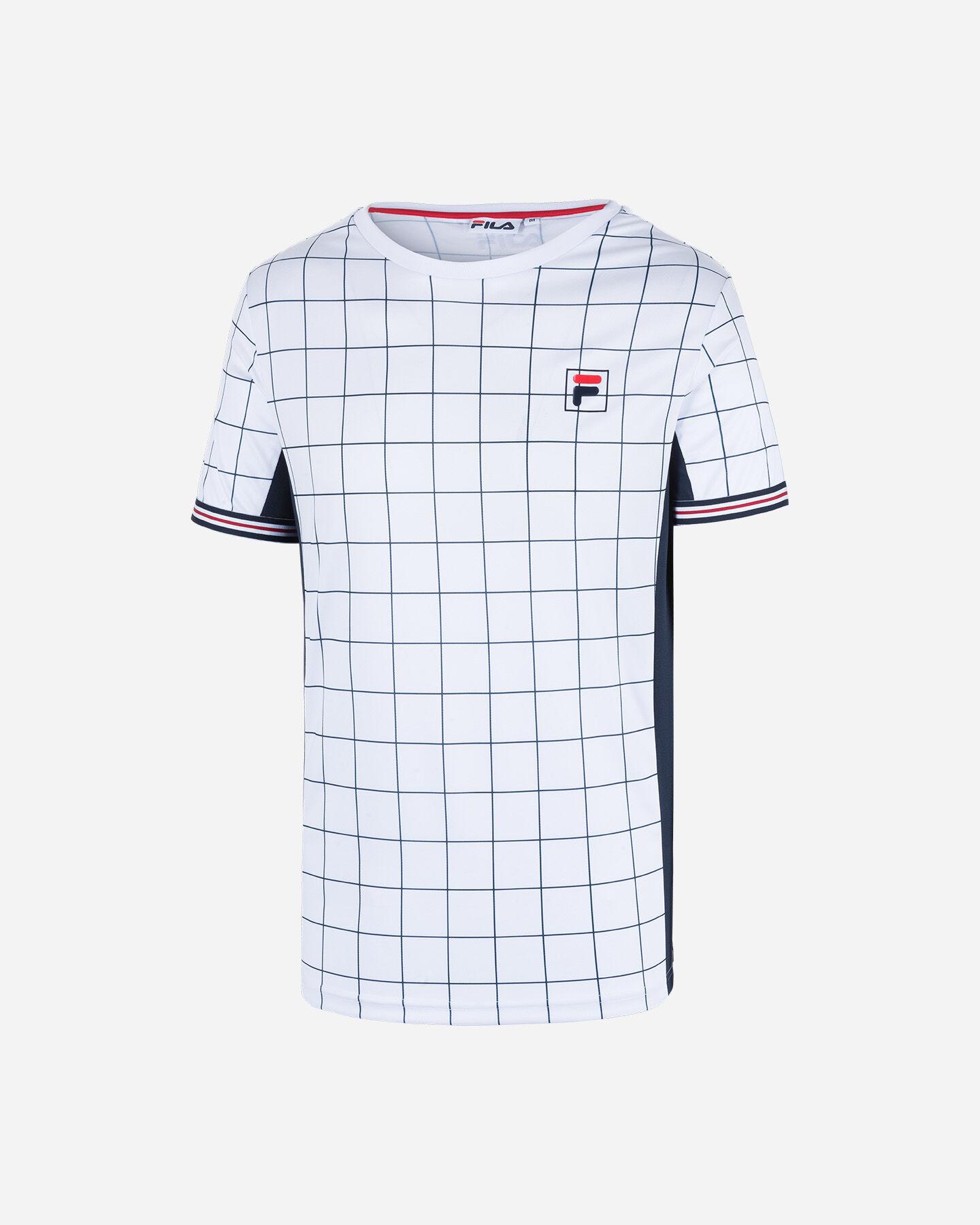 T-Shirt tennis FILA TENNIS HERITAGE M S4075791 scatto 5