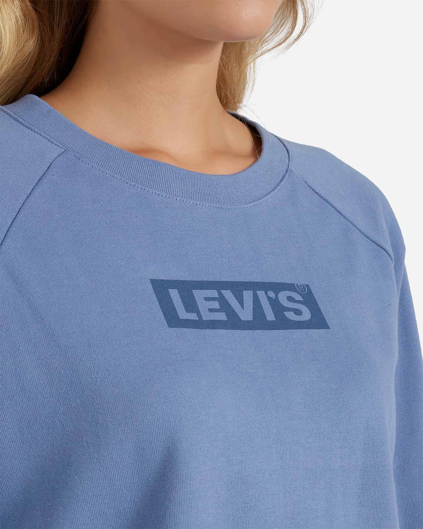 Felpa LEVI'S RELAXED GRAPHIC BOXTAB W S4083510 scatto 4
