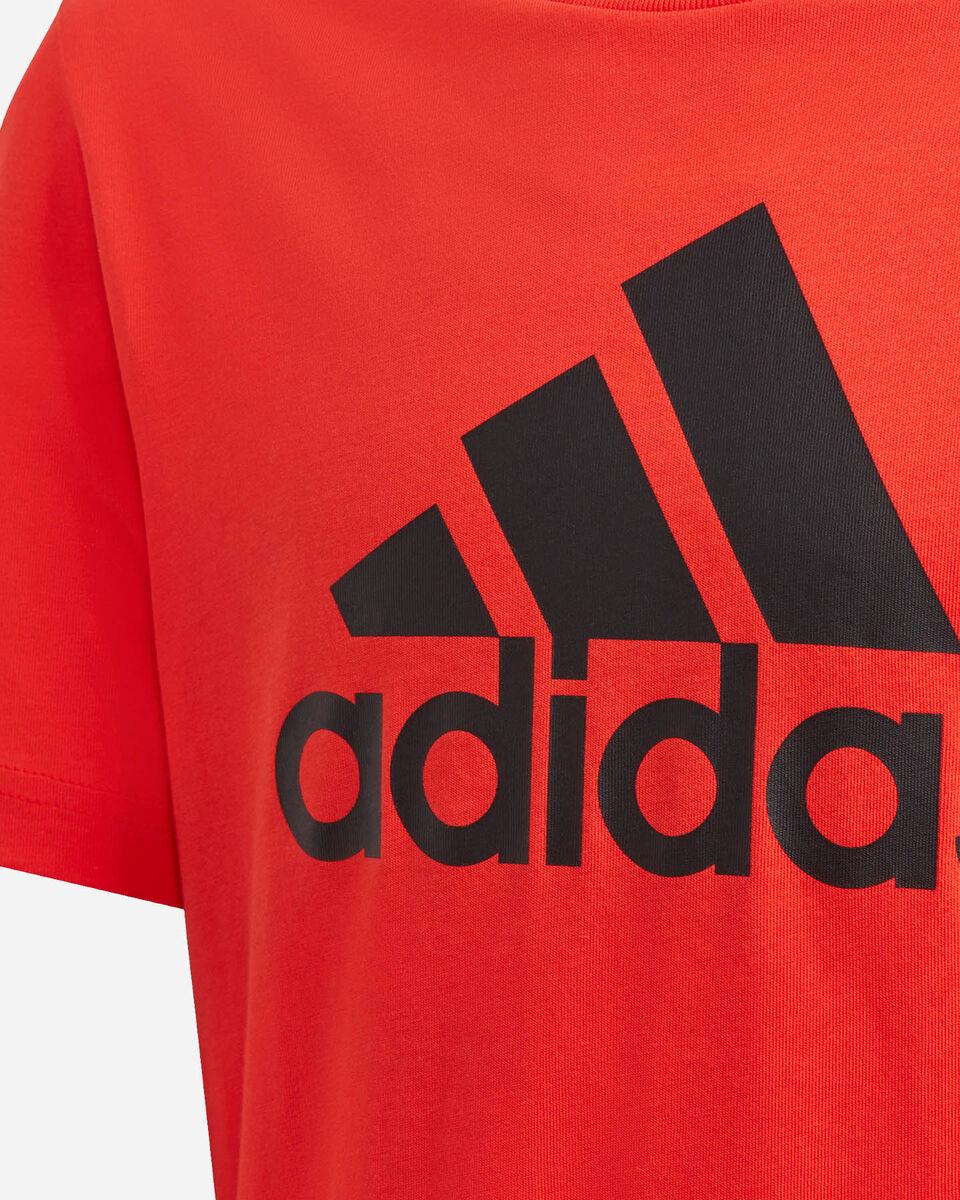T-Shirt ADIDAS BIG LOGO JR S5211708 scatto 3
