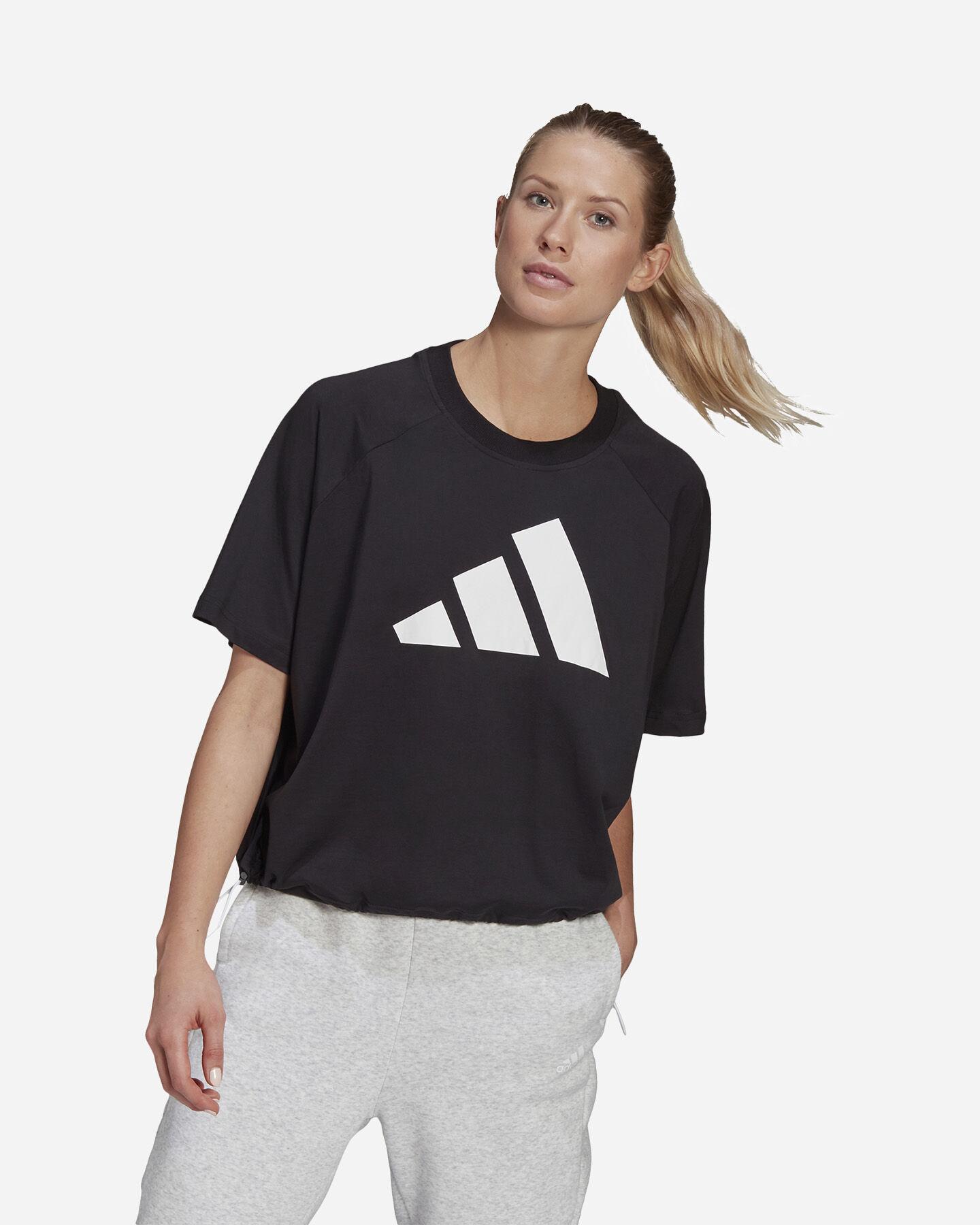 T-Shirt ADIDAS LOGO W S5275229 scatto 1