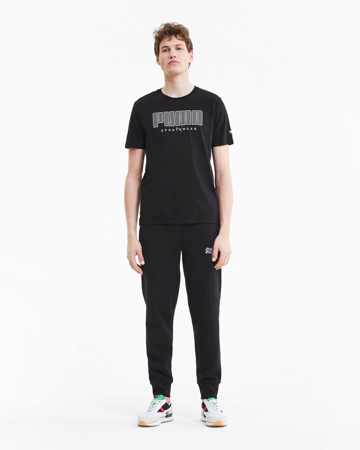T-Shirt PUMA ATHTLETIC M S5235064 scatto 4