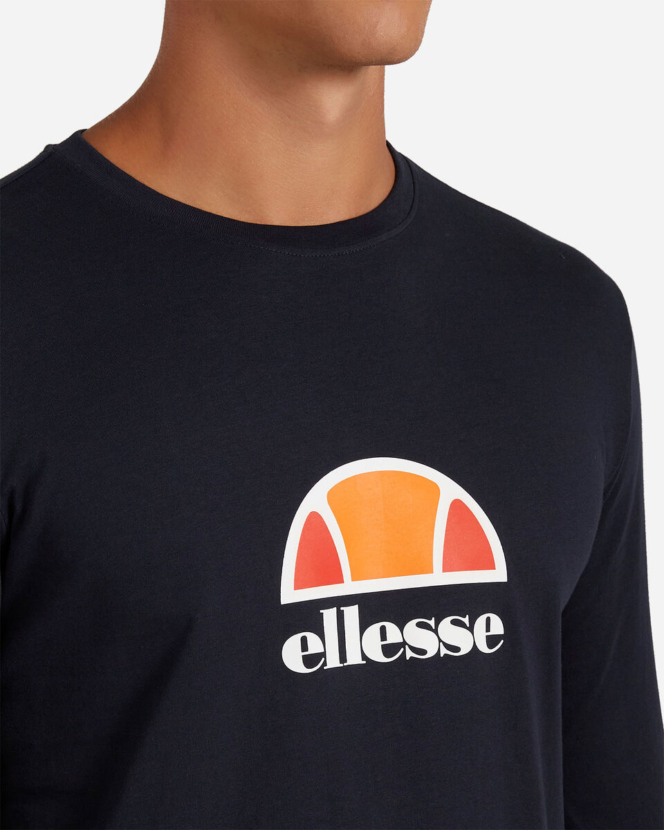 T-Shirt ELLESSE ML SMALL LOGO M S4081214 scatto 4